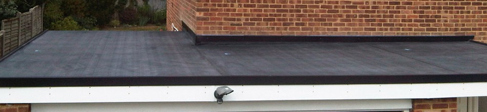UV resistant rubber roofing
