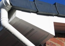 Brand new fascias and gutters